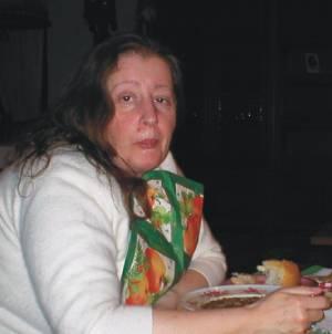 Meine Mutter an Weihnachten ca. 2002